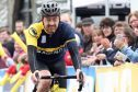 Chris Boardman during the 2016 Etape. The star is a huge fan of the event, but enjoys chatting to fellow riders as he cycles through the Perthshire countryside rather than riding to win.