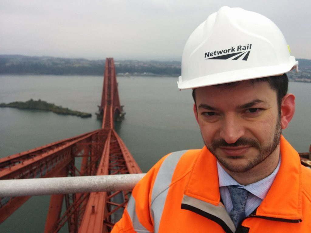 Network Rail communications manager Craig Bowman explains the plans for the Forth Rail Bridge
