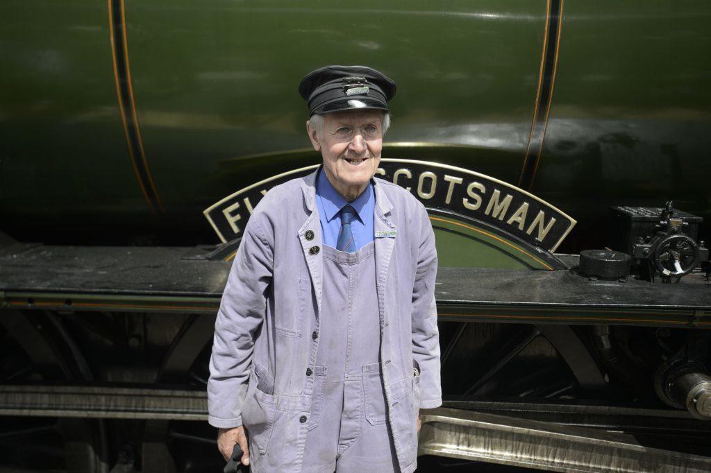 Engine fireman Gordon Hodgson.