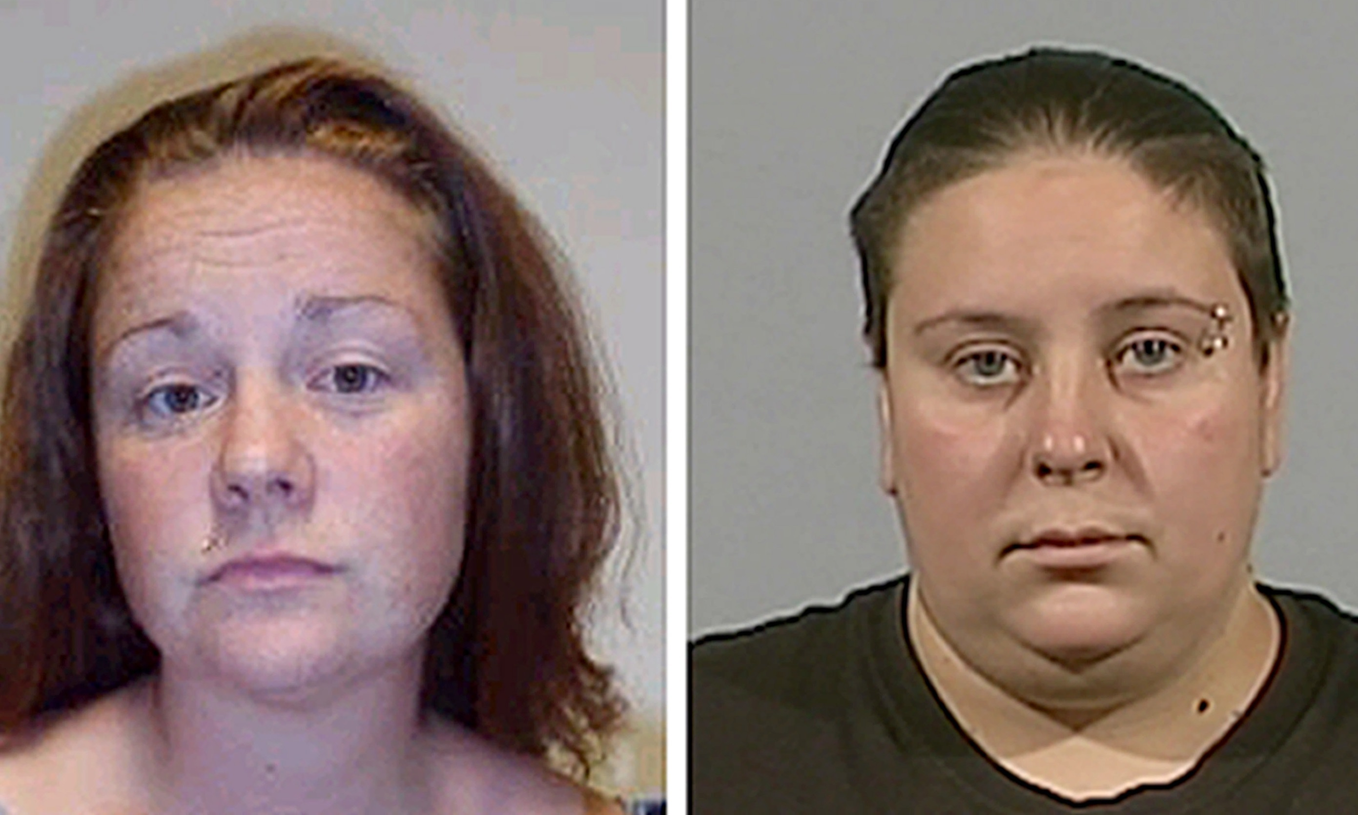 The murder trial of Rachel Fee (left) and her partner Nyomi Fee was regarded as one of the most traumatic for jurors in recent memory.