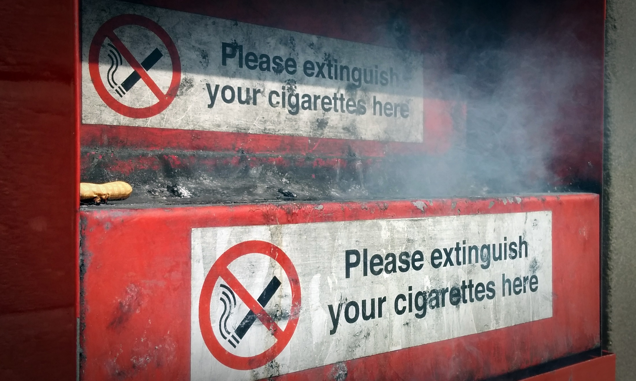 Smokers in the area have been asked to look out for people selling cheap cigarettes.