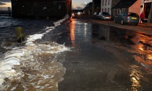 """Broughty Ferry flood defence works delayed by """"engineering challenges"""""""