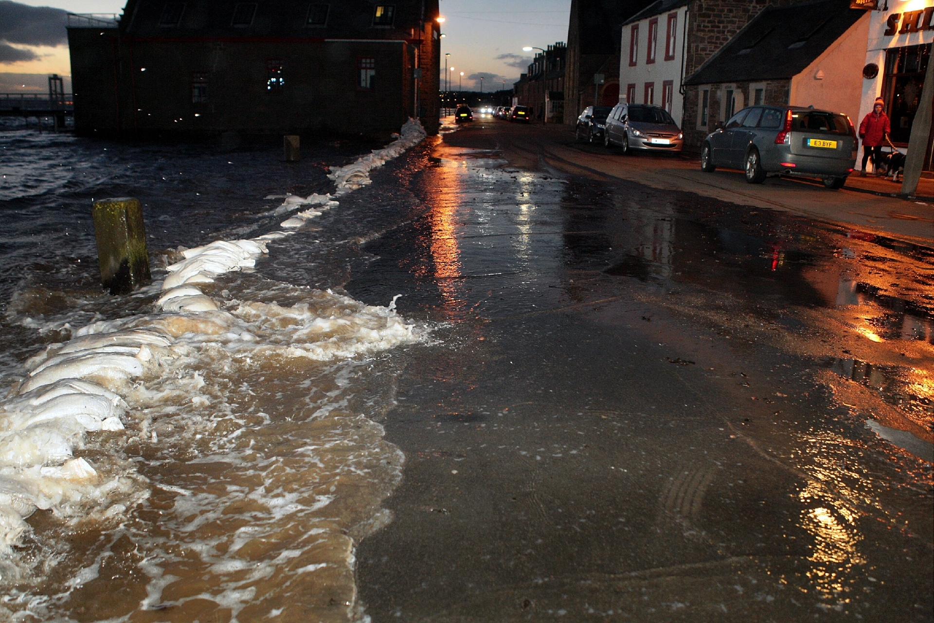 Areas of the Ferry have been identified as being at risk of flooding.