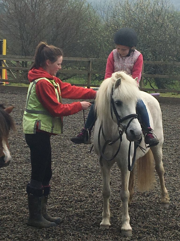 Getting to know Lucy at Mains of Taymouth Stables
