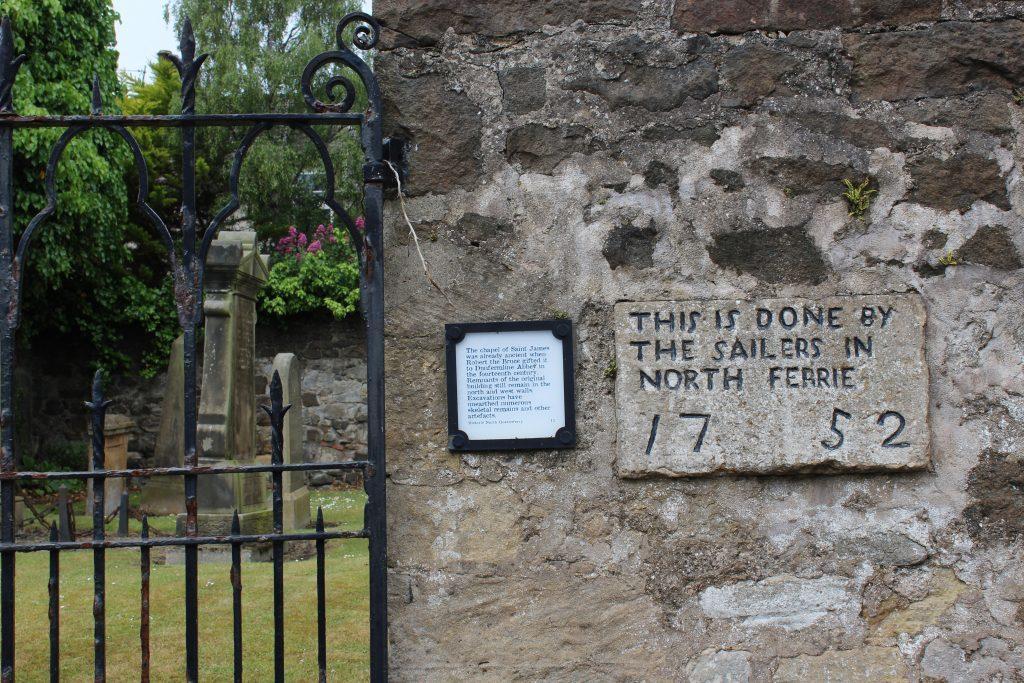 2. St James' Chapel graveyard - James Carron Take a Hike