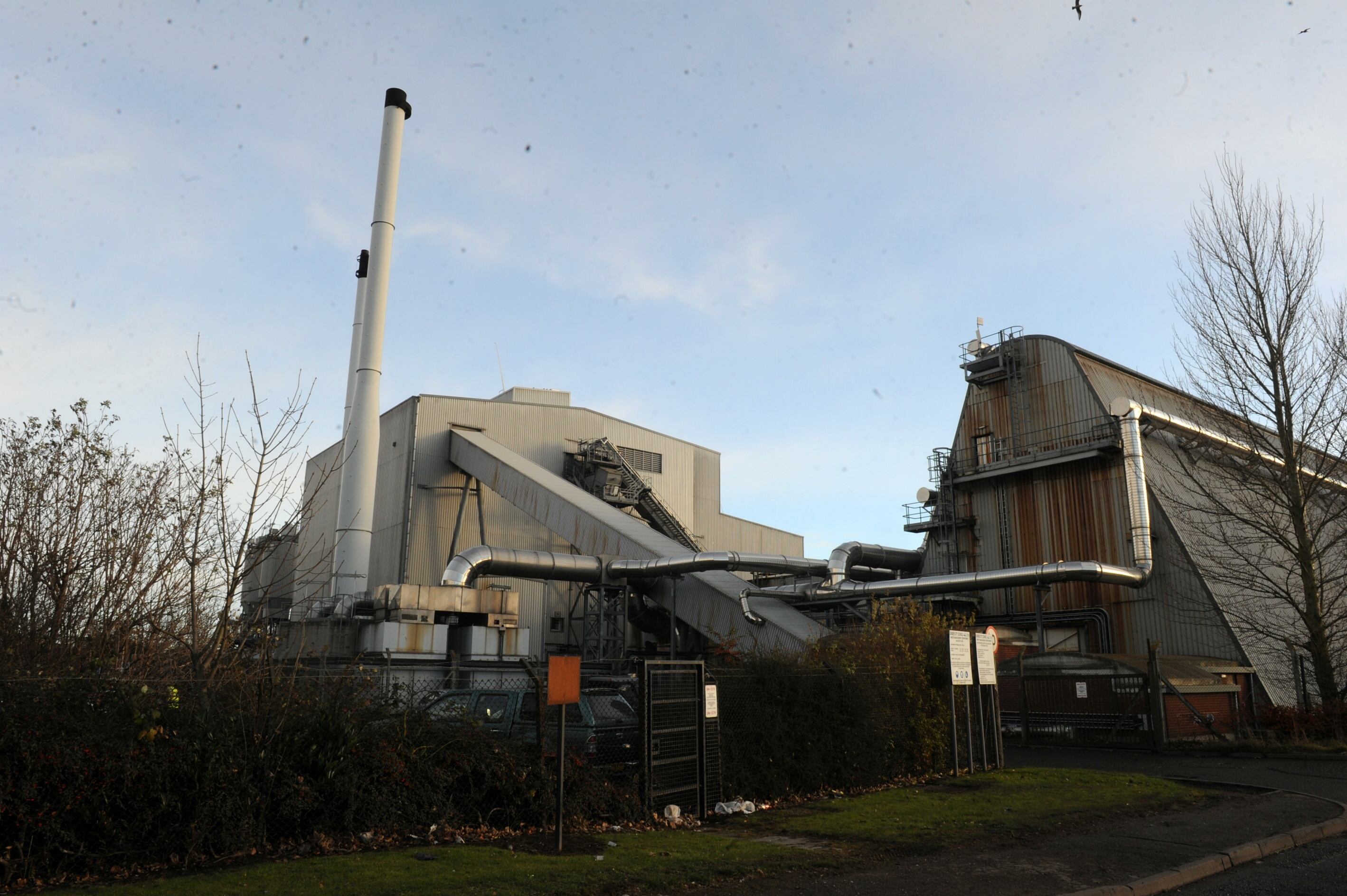 The DERL incinerator at Baldovie.