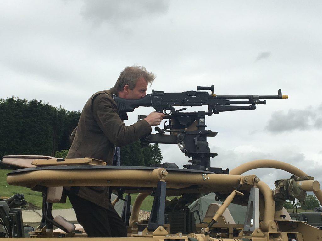 The Courier's Michael Alexander gets to grip's with the Jackal's weaponry