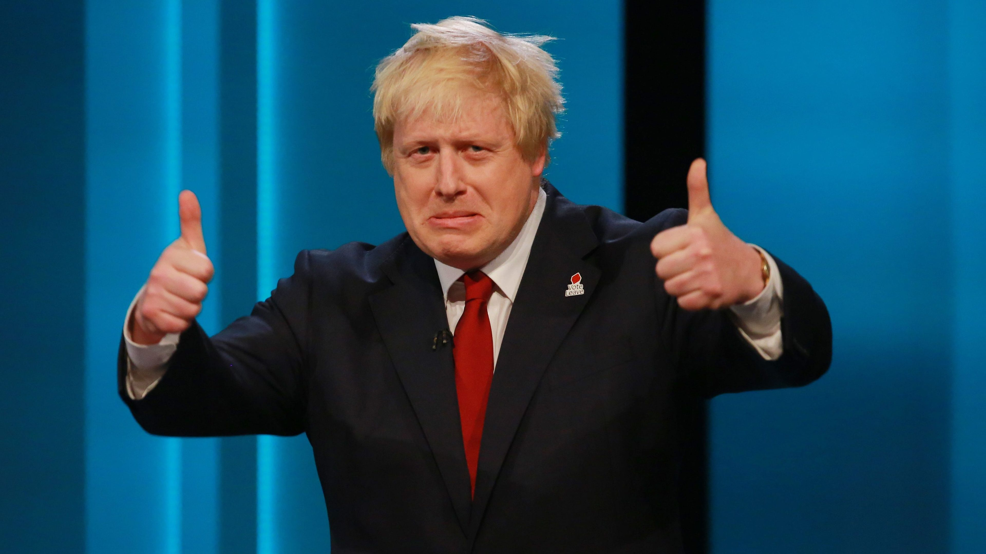 Boris Johnson: a maverick pipe major, twirling his baton to a silent tune, followed by no one.
