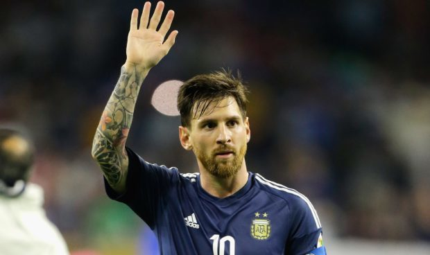 Lionel Messi: could be waving goodbye to the World Cup.