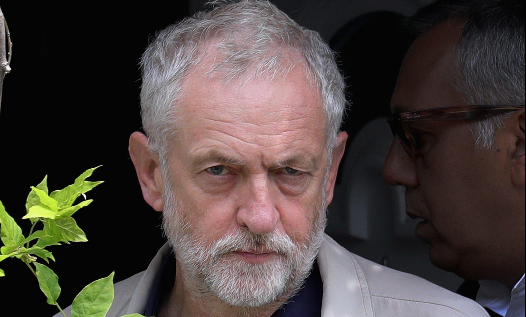 UK Labour Leader Jeremy Corbyn