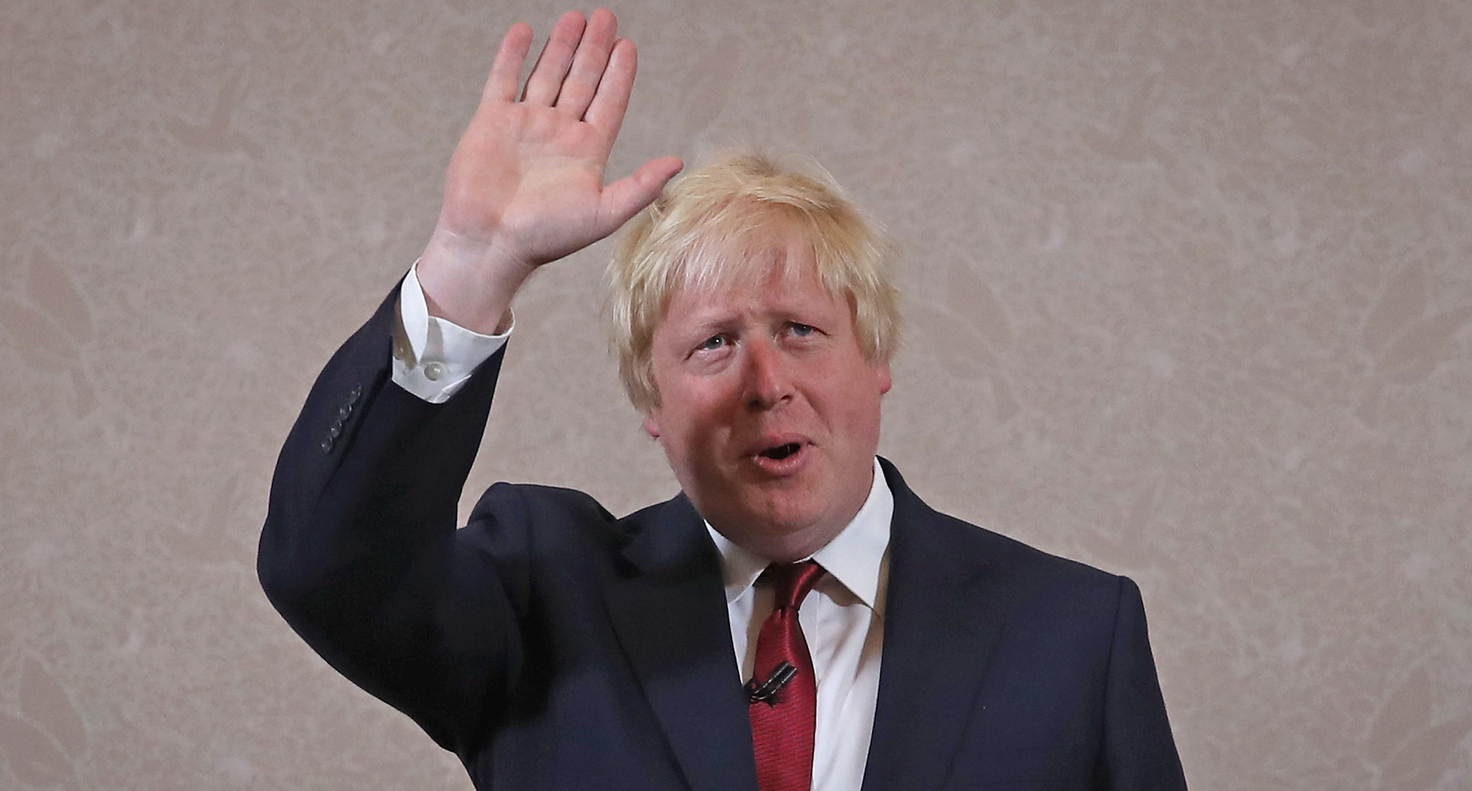 Not a wave goodbye - expect Boris to be back