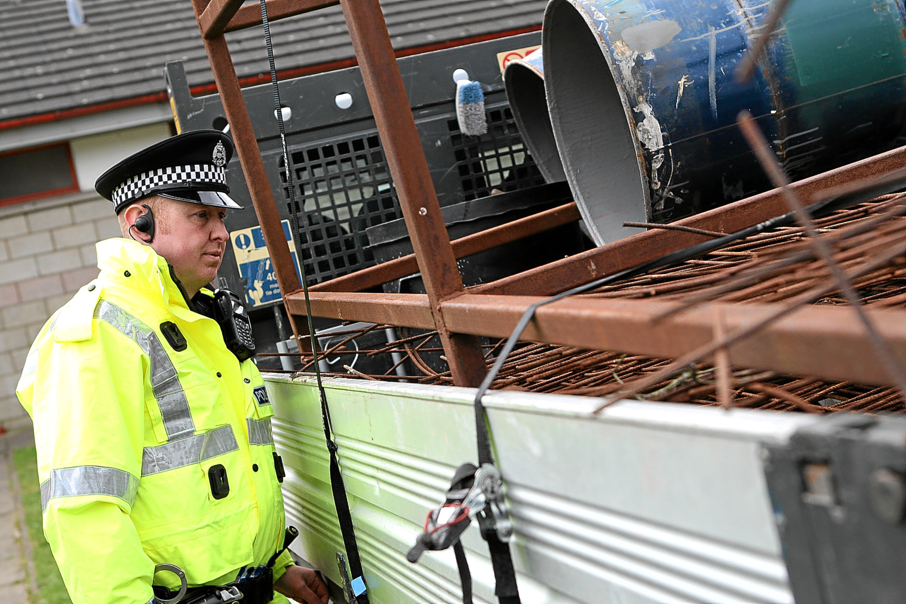 Police are clamping down on illegal scrap metal dealing.