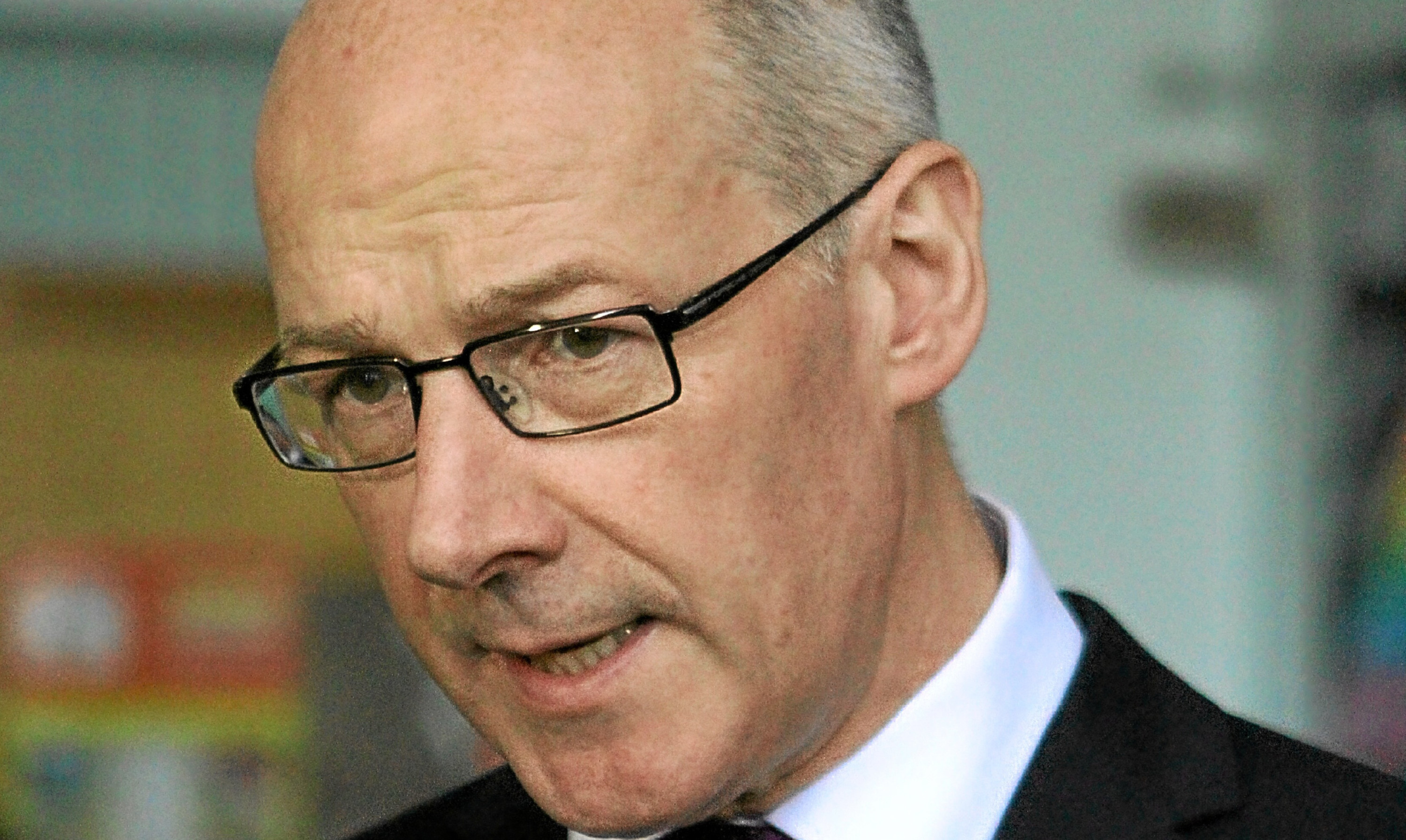 Perthshire North MSP and Deputy First Minister John Swinney.