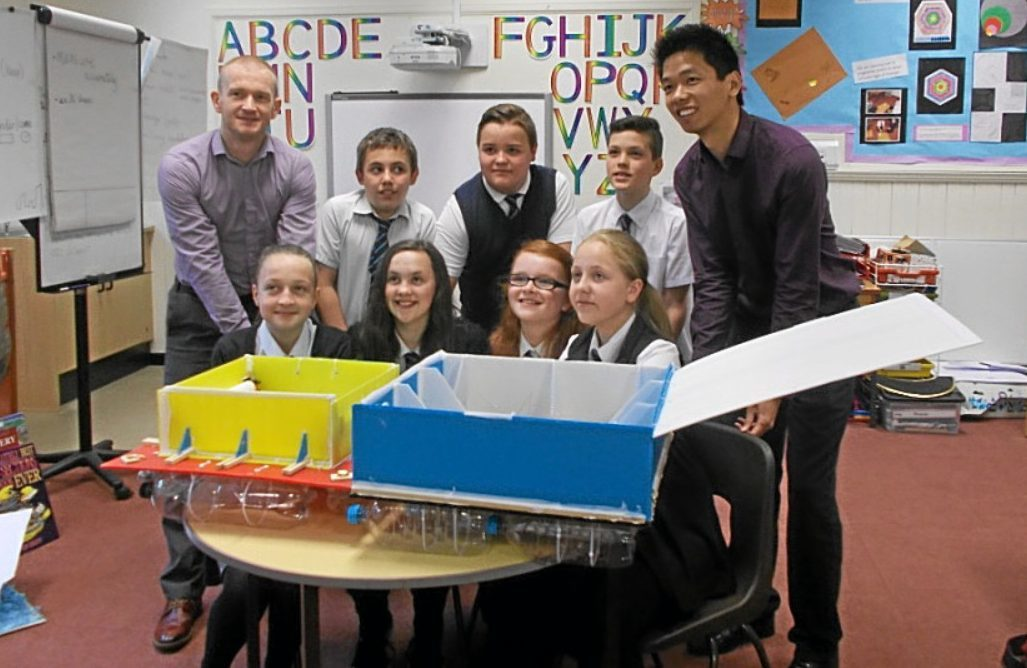 Benarty Primary School is off to the finals of the Saltire awards.