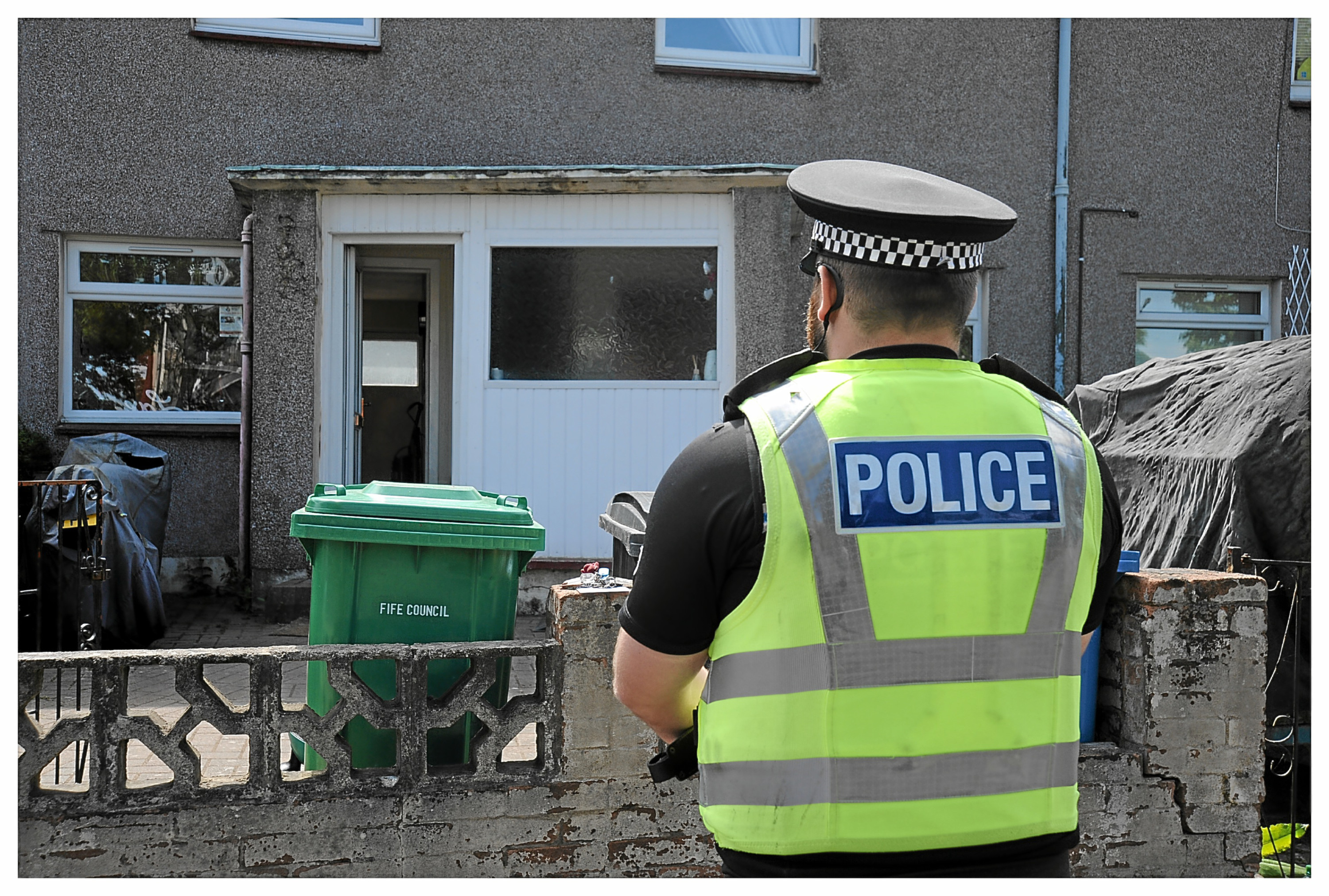 Police have stepped up patrols in Auchmuty
