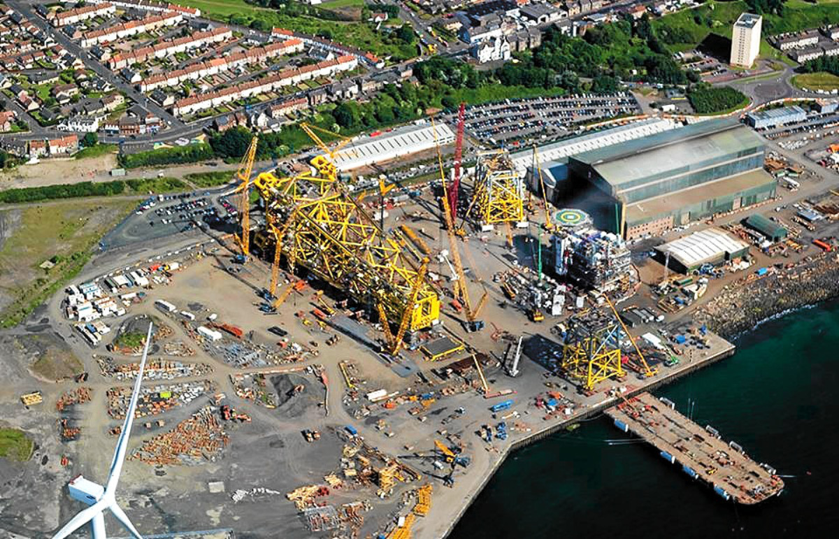 BiFab's Methil yard