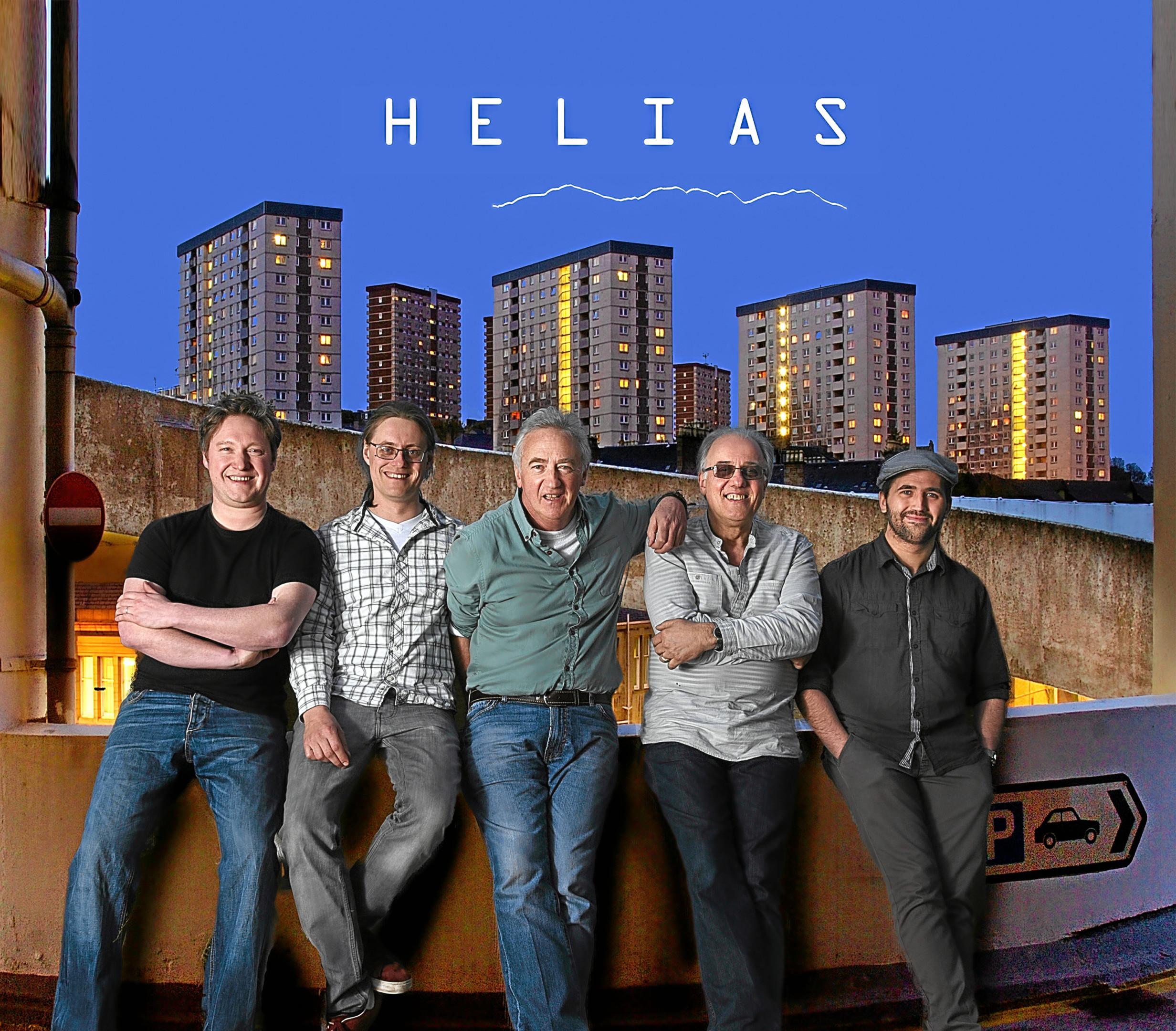 Helias - Leon Thorne, Ruairidh McClean,  Simon Jauncey, Pete Caban, Doug Alec Rees.