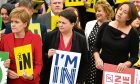 Nicola Sturgeon, Ruth Davidson and Kezia Dugdale were united on the referendum trail and may need to be just as united in discussing Scotlands future.