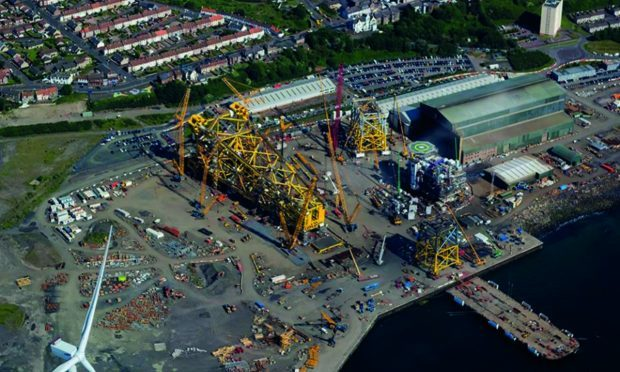 BiFab's Methil yard will benefit from then new £100 million Beatrice contract
