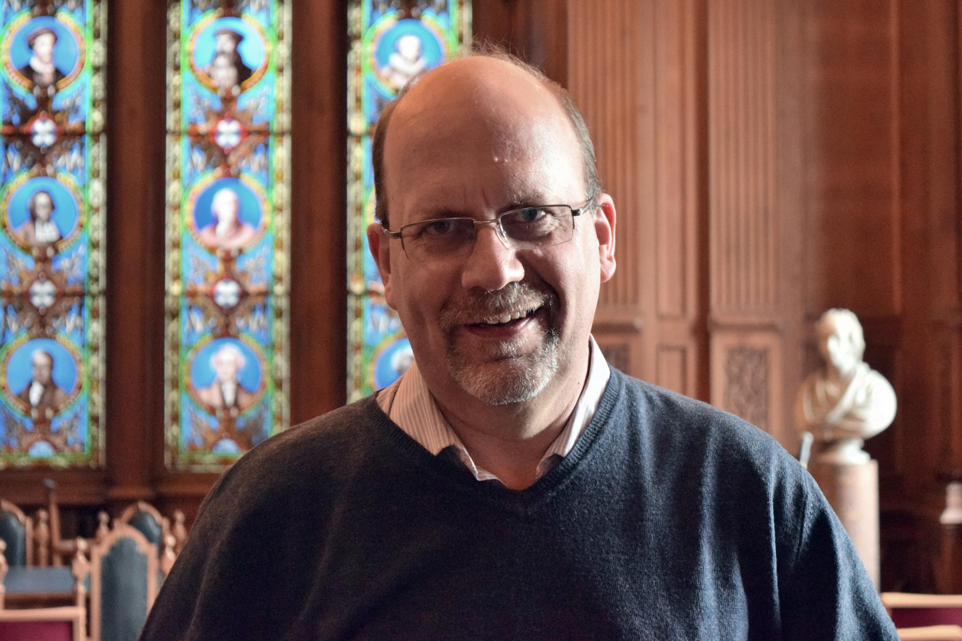 Rev David Robertson.