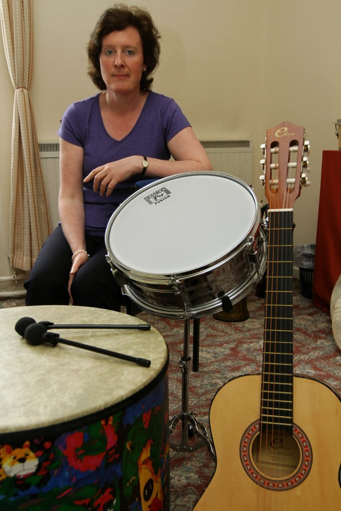 Mary Veal can play many instruments