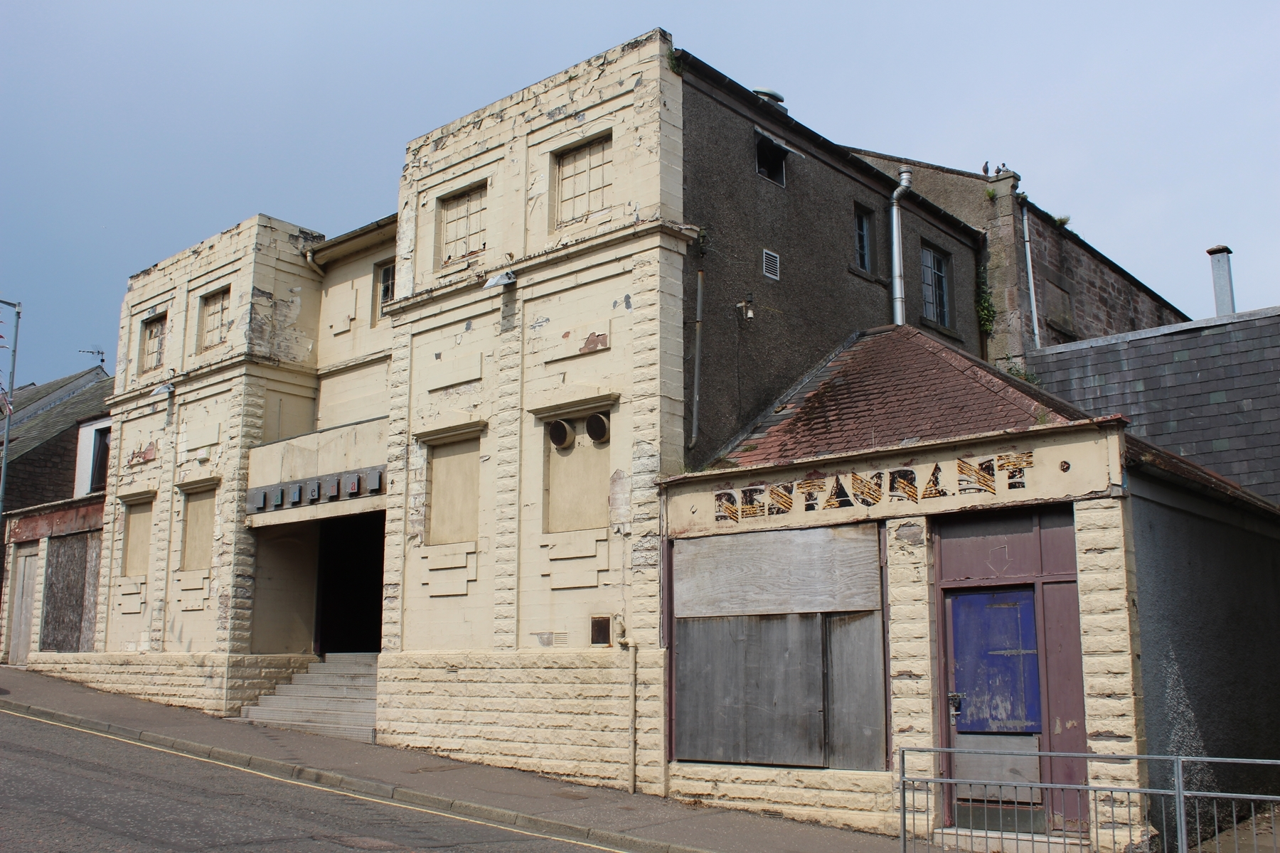 The former Flicks nightclub in Brechin.