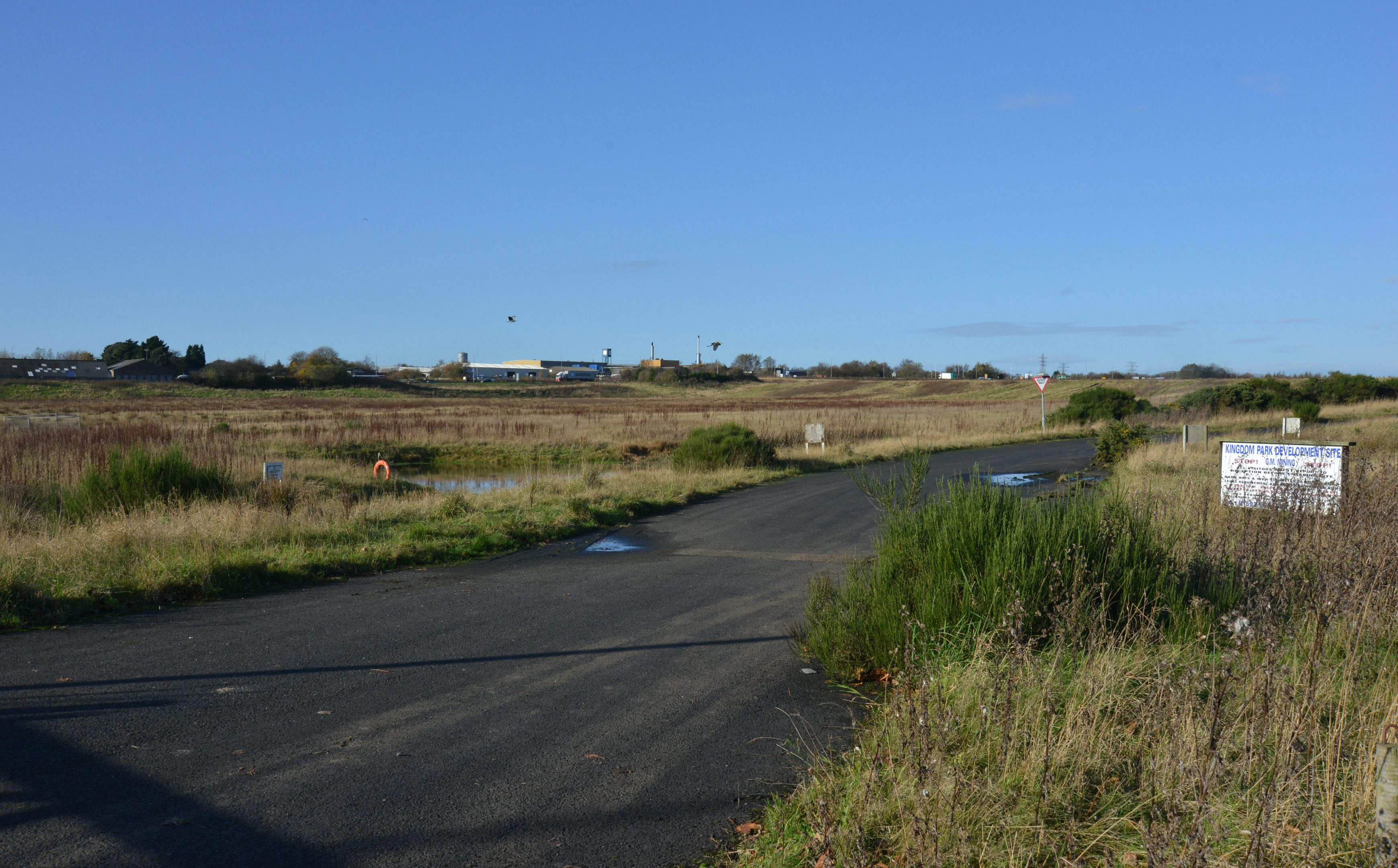 The Kingdom Park site.