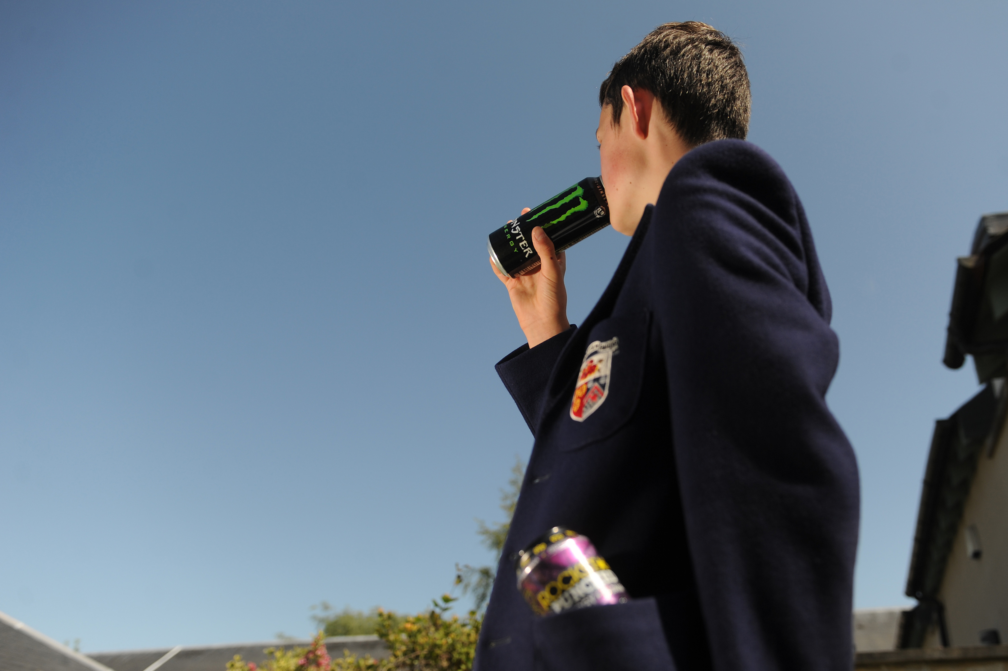 """Consuming so-called """"energy drinks"""" has become part of the daily routine for many pupils."""