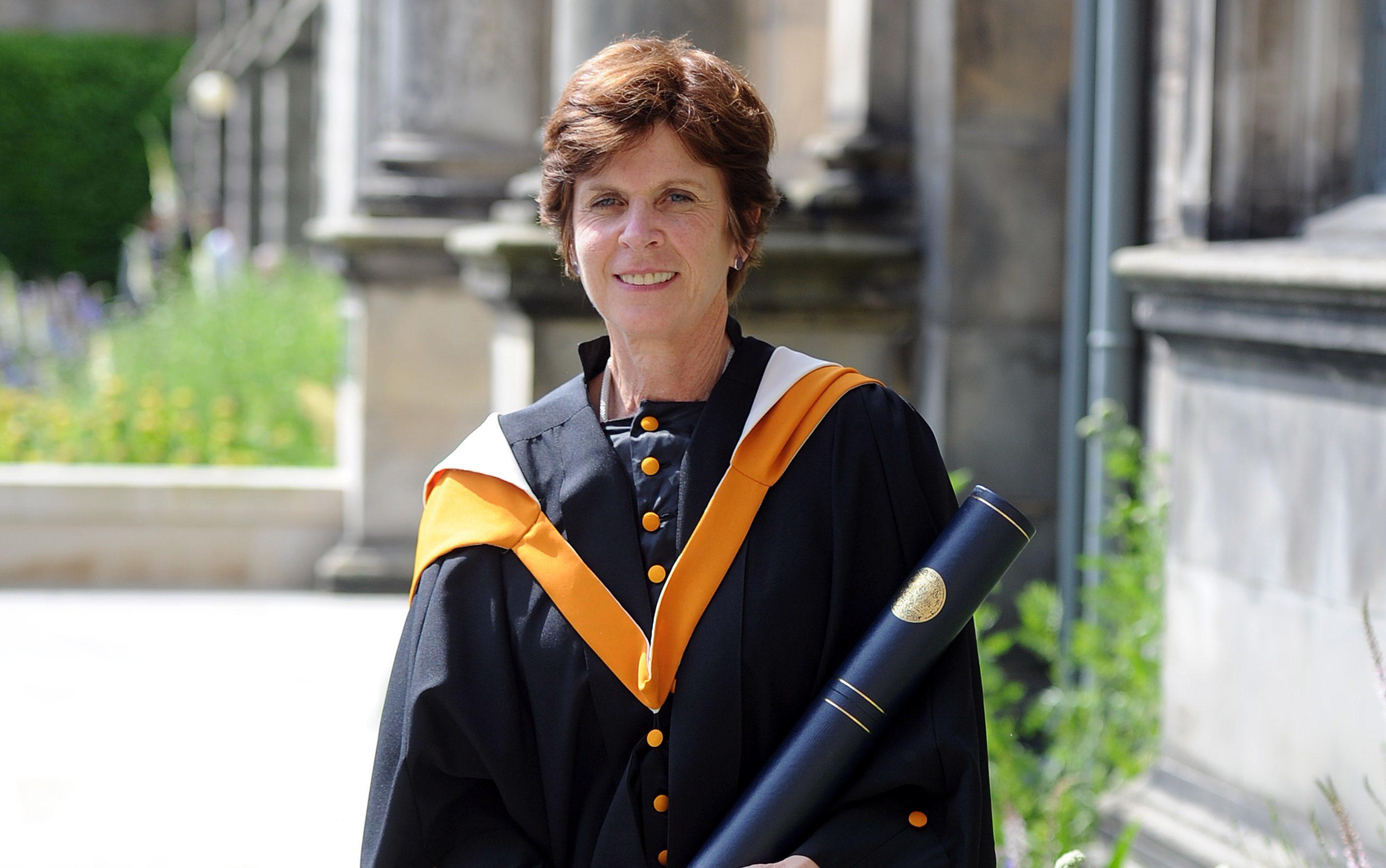 Former Principal  Professor Louise Richardson.