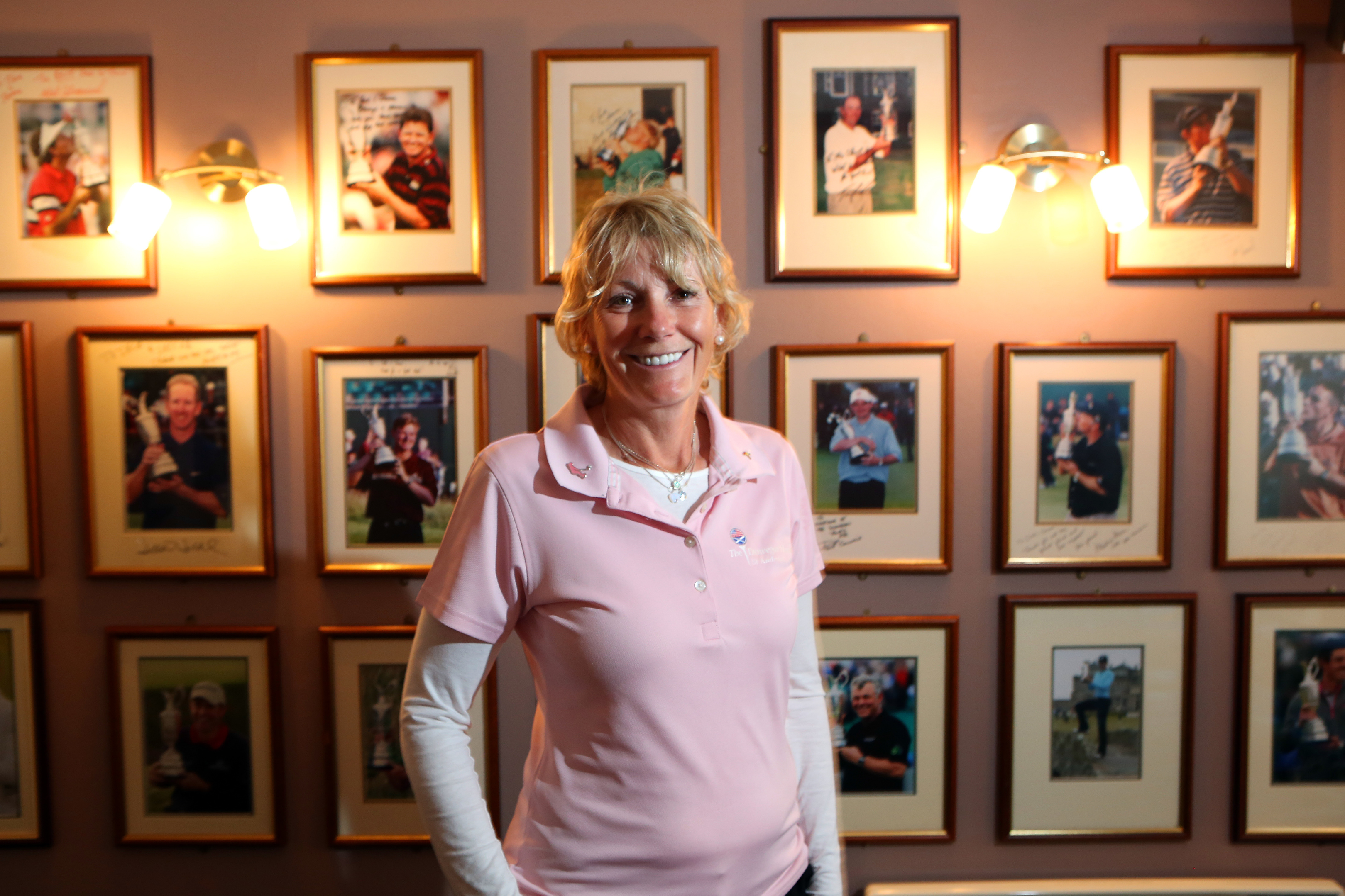 Sheena Willoughby is  putting the well-known golf themed hotel  up for sale.
