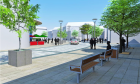 An artist's impression of the £1.4million cultural quarter at Perth's Mill Street.