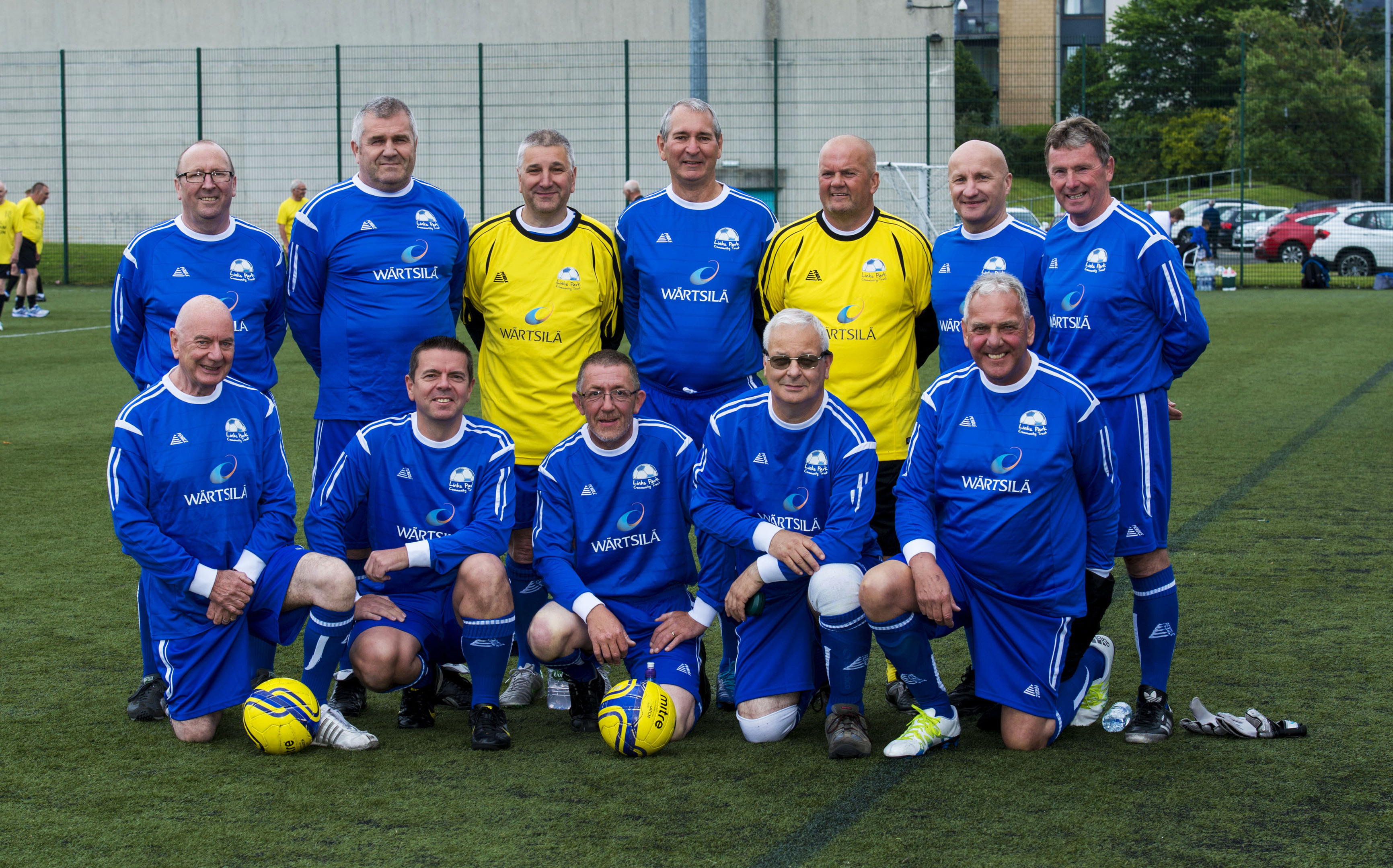 The victorious Montrose team.