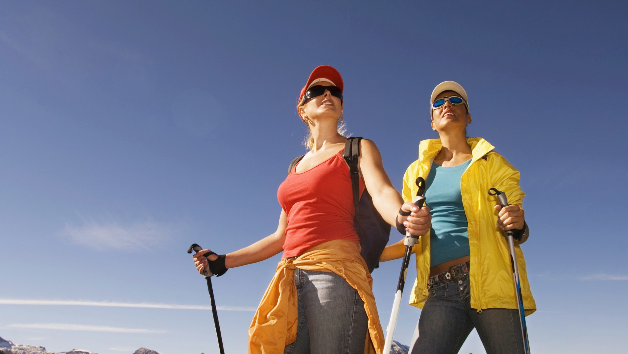Nordic walking has been identified as one sport which might attract younger women.