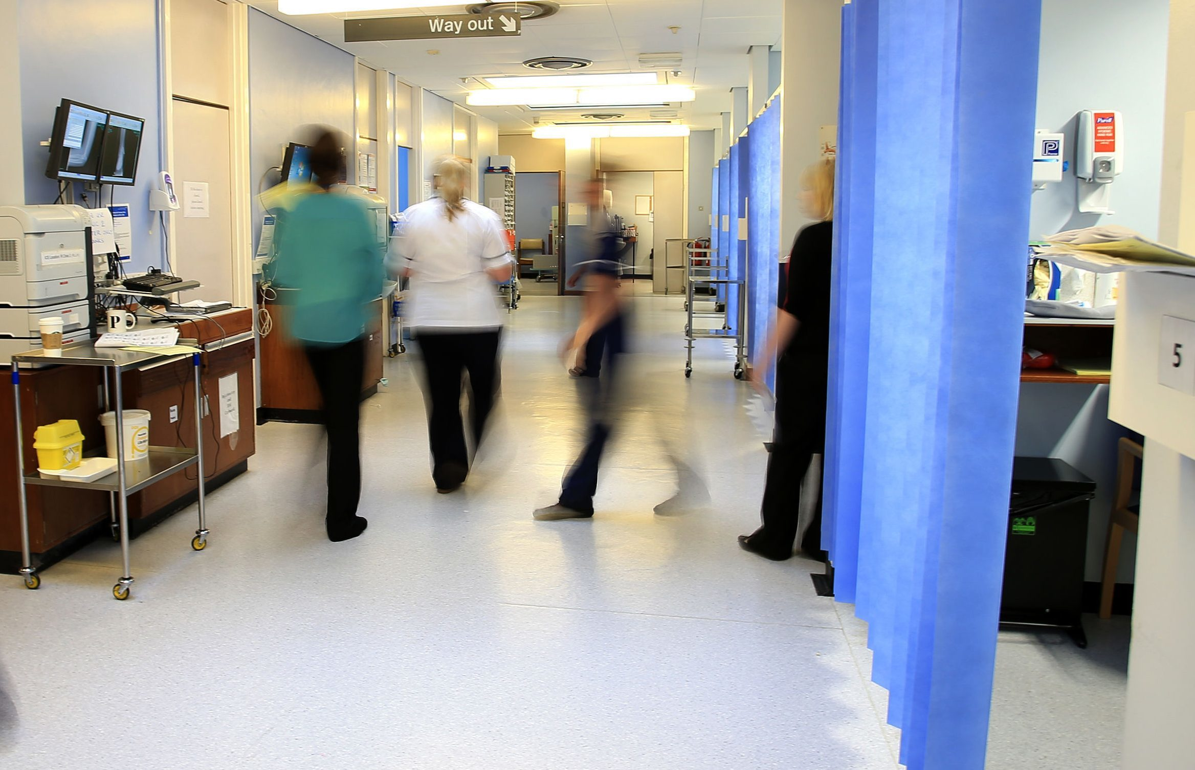 Hospitals in Dundee City and Perth and Kinross saw some of the big increases in bed-blocking.
