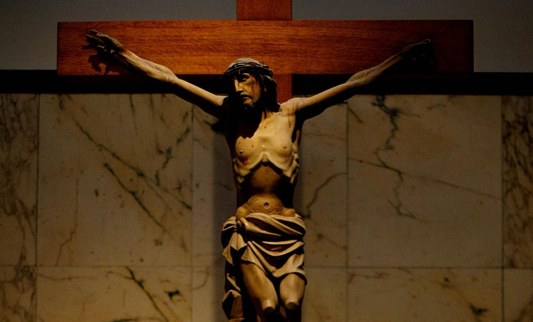 Christ on the cross.