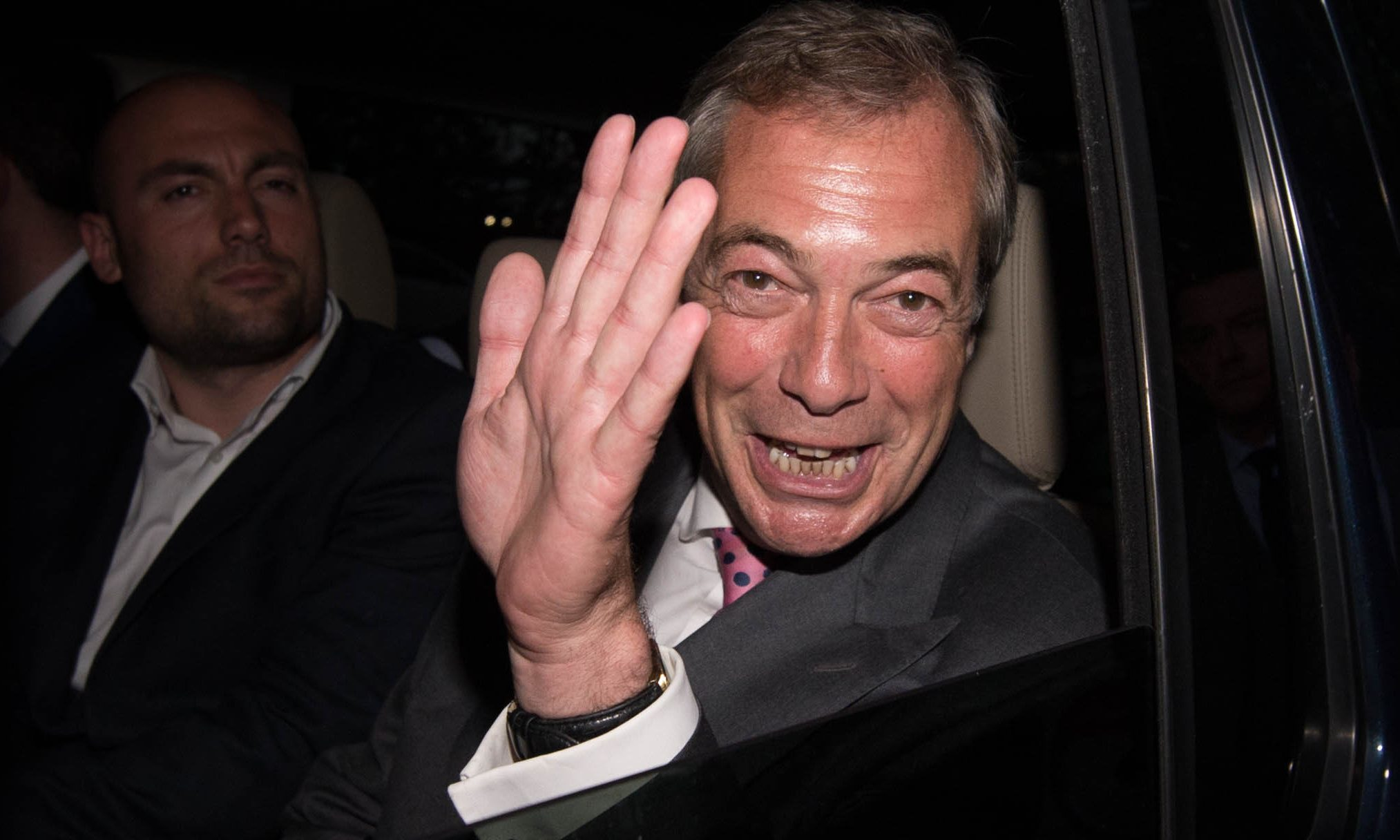 Nigel Farage.
