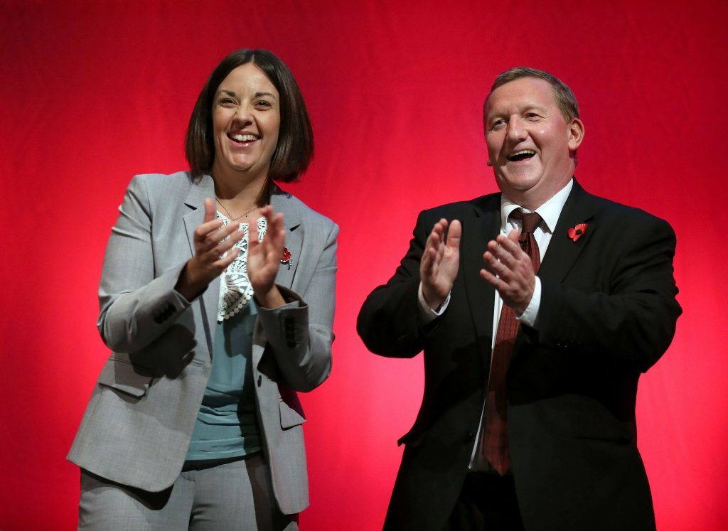 Scottish Labour deputy leader Alex Rowley right) is a firm supporter of the Scottish Youth Parliament