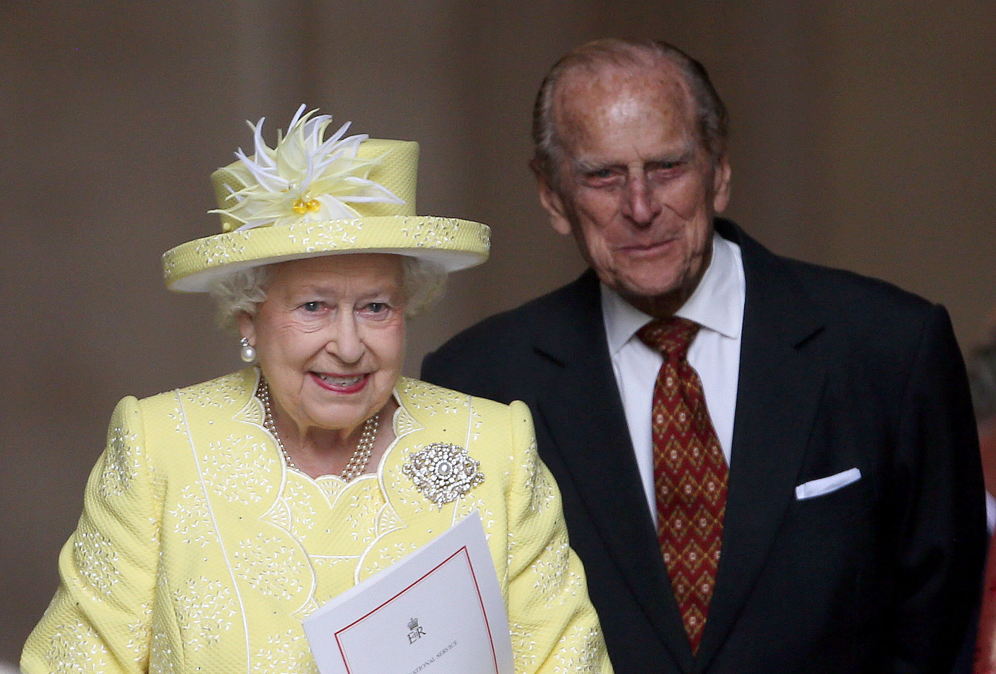 Queen Elizabeth II and the Duke of Edinburgh.