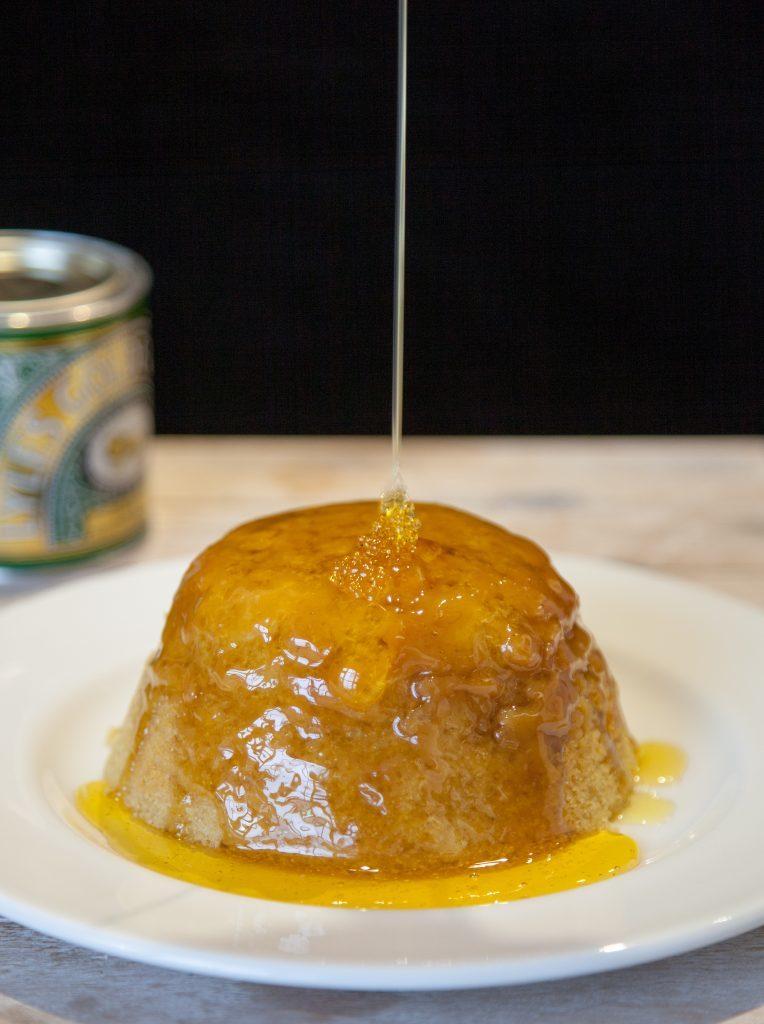 Syrup Steamed Sponge Pudding