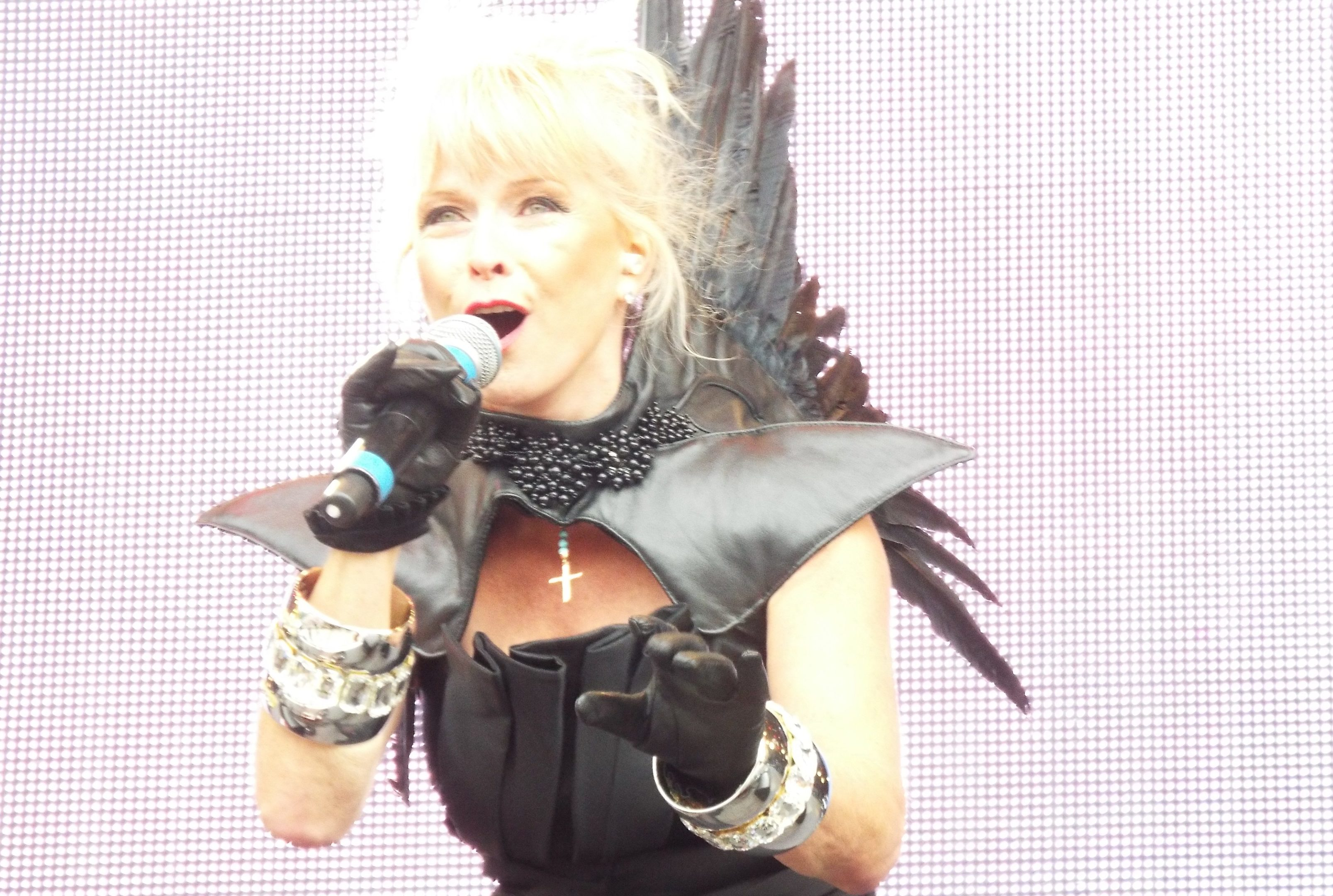 Pop star Toyah Willcox has backed Perth's bid for City of Culture status.