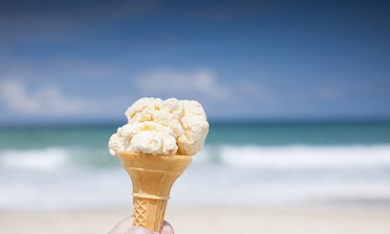 Cornish Ice Cream - the perfect sunshine treat.