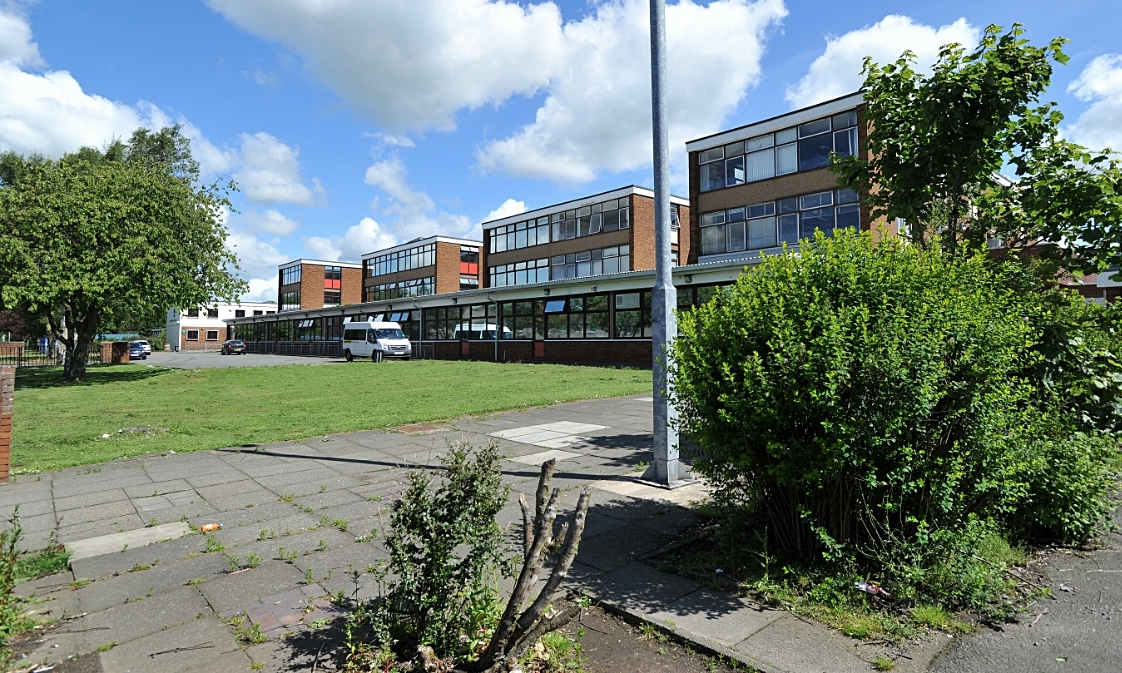 Woodmill High School in Dunfermline, which has imminent capacity issues.