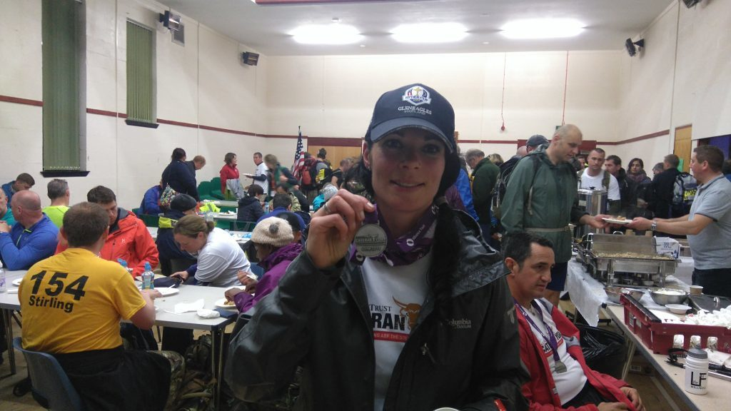 Gayle clinched silver, finishing up at Kirkton of Glenisla.