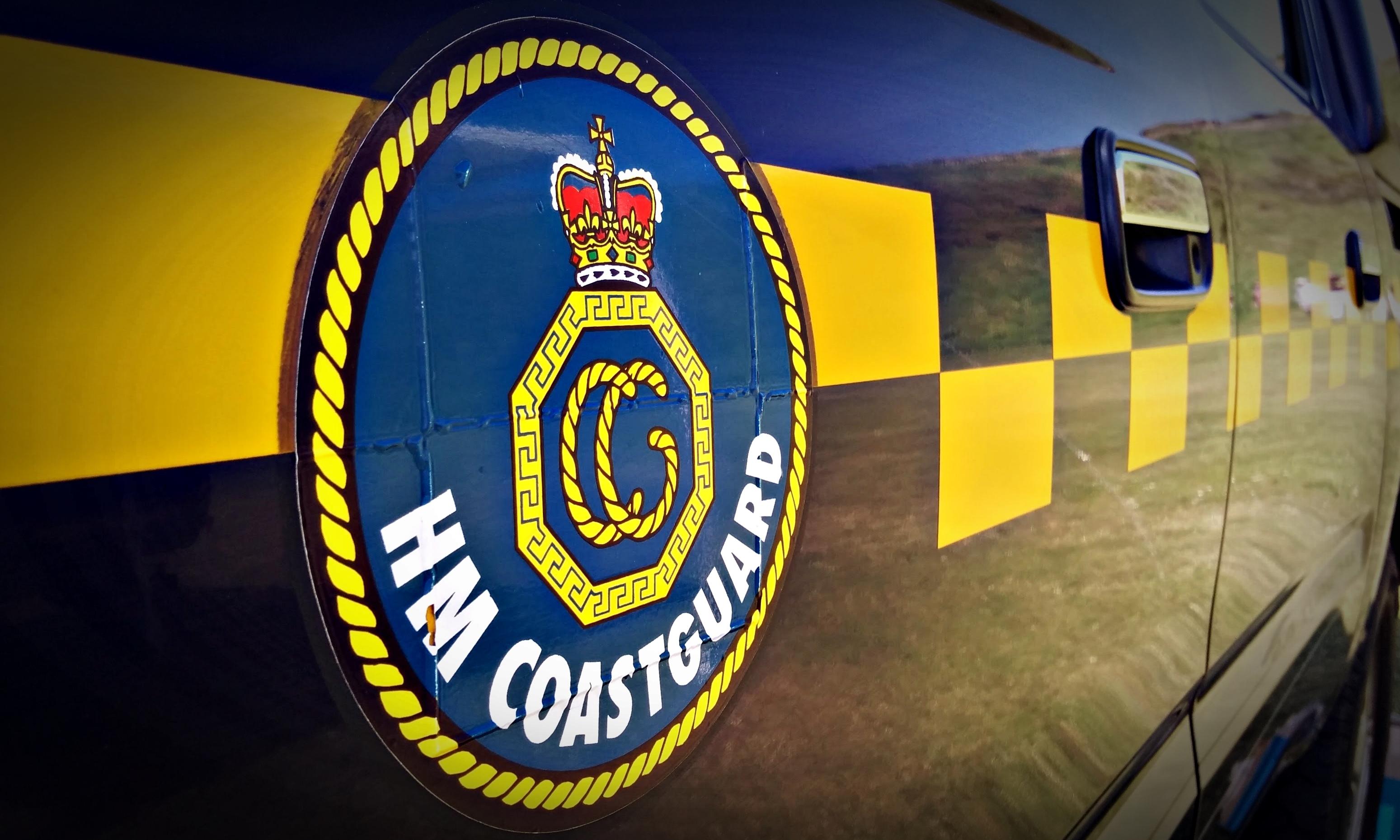 HM Coastguard were called