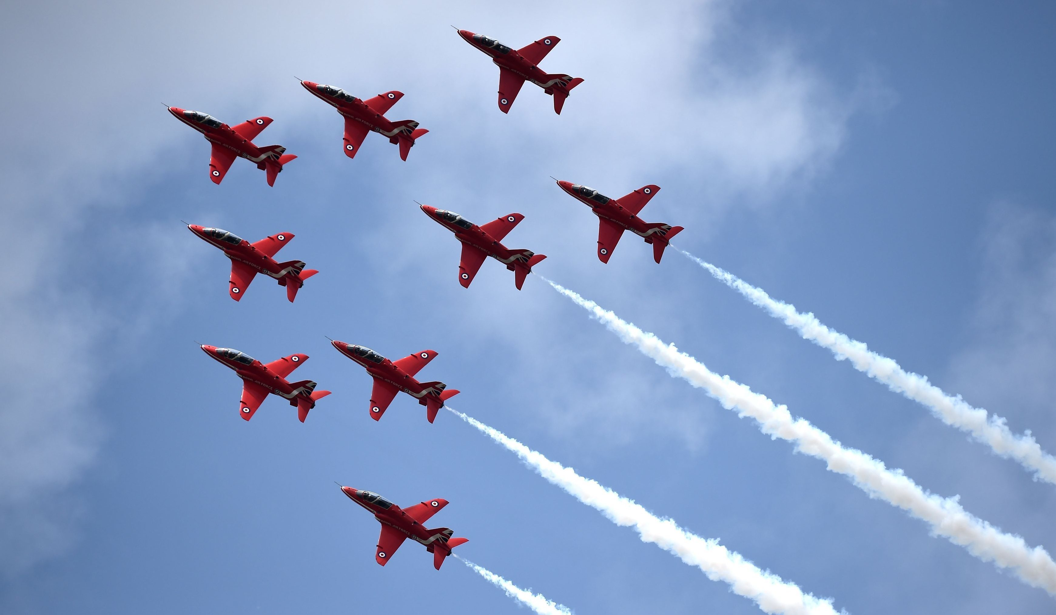 The Red Arrows.