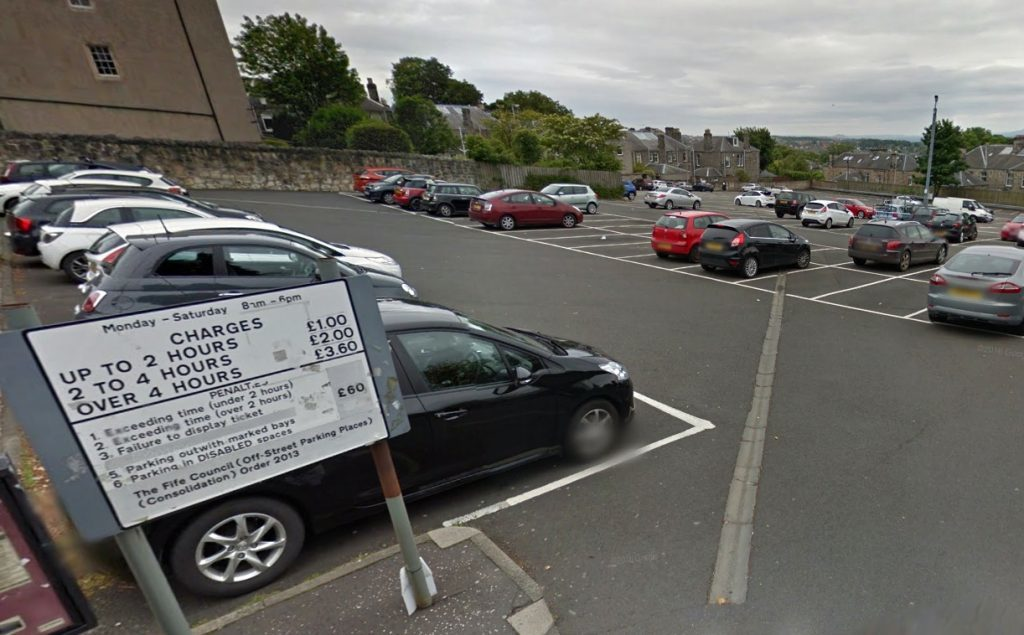 The warden decided not to use the large council-run car park at the bottom of Walmer Drive.