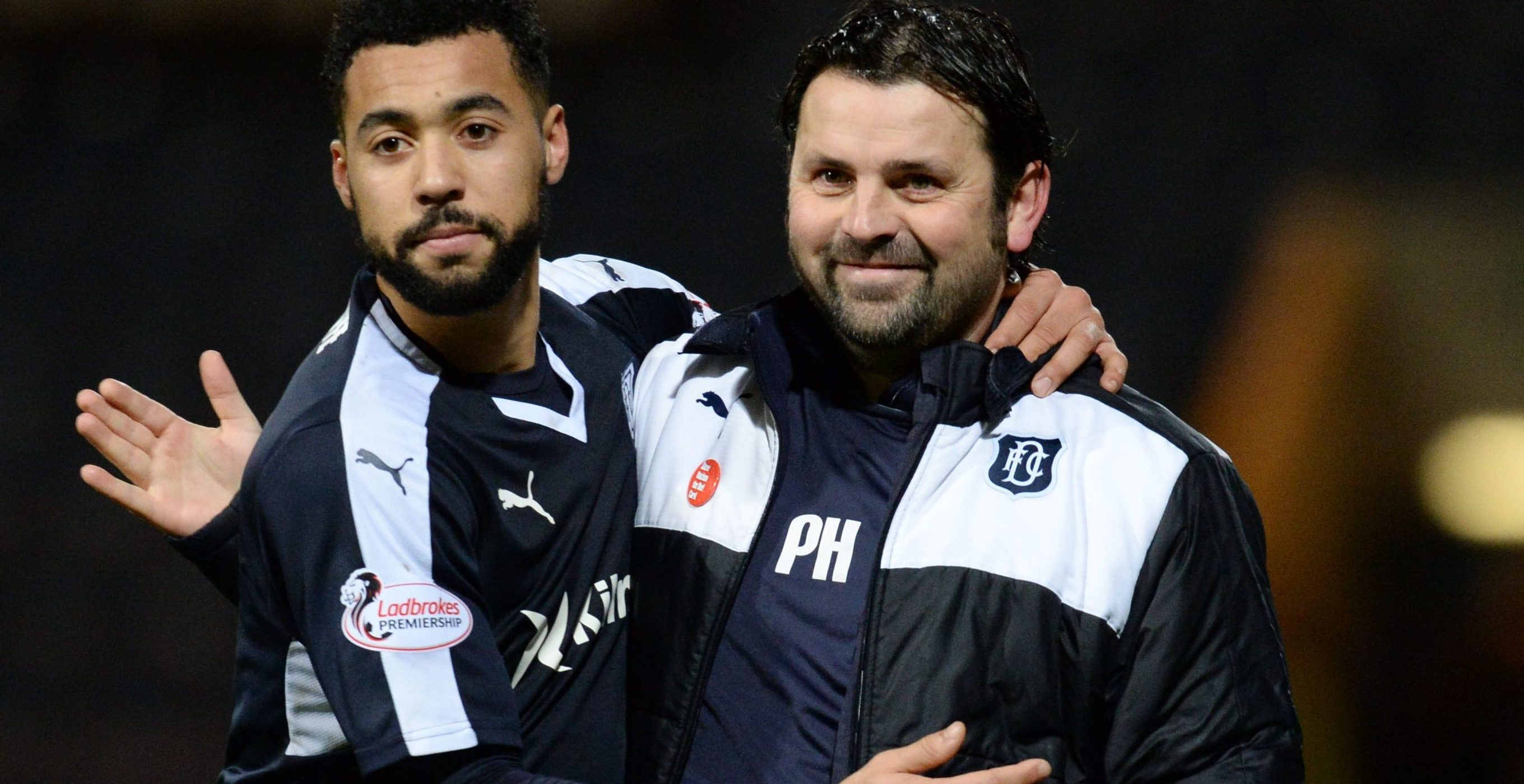 Kane Hemmings and Paul Hartley.