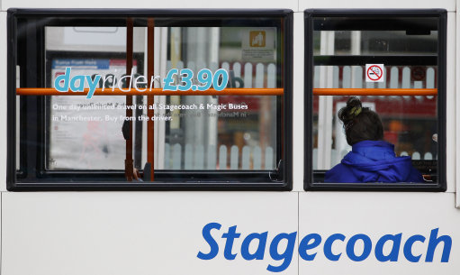 Stagecoach diverted five services