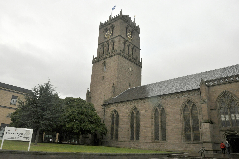 Steeple Church in Dundee.