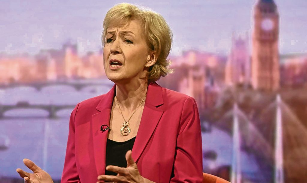 Andrea Leadsom drmatically withdrew from the race to be PM on Monday